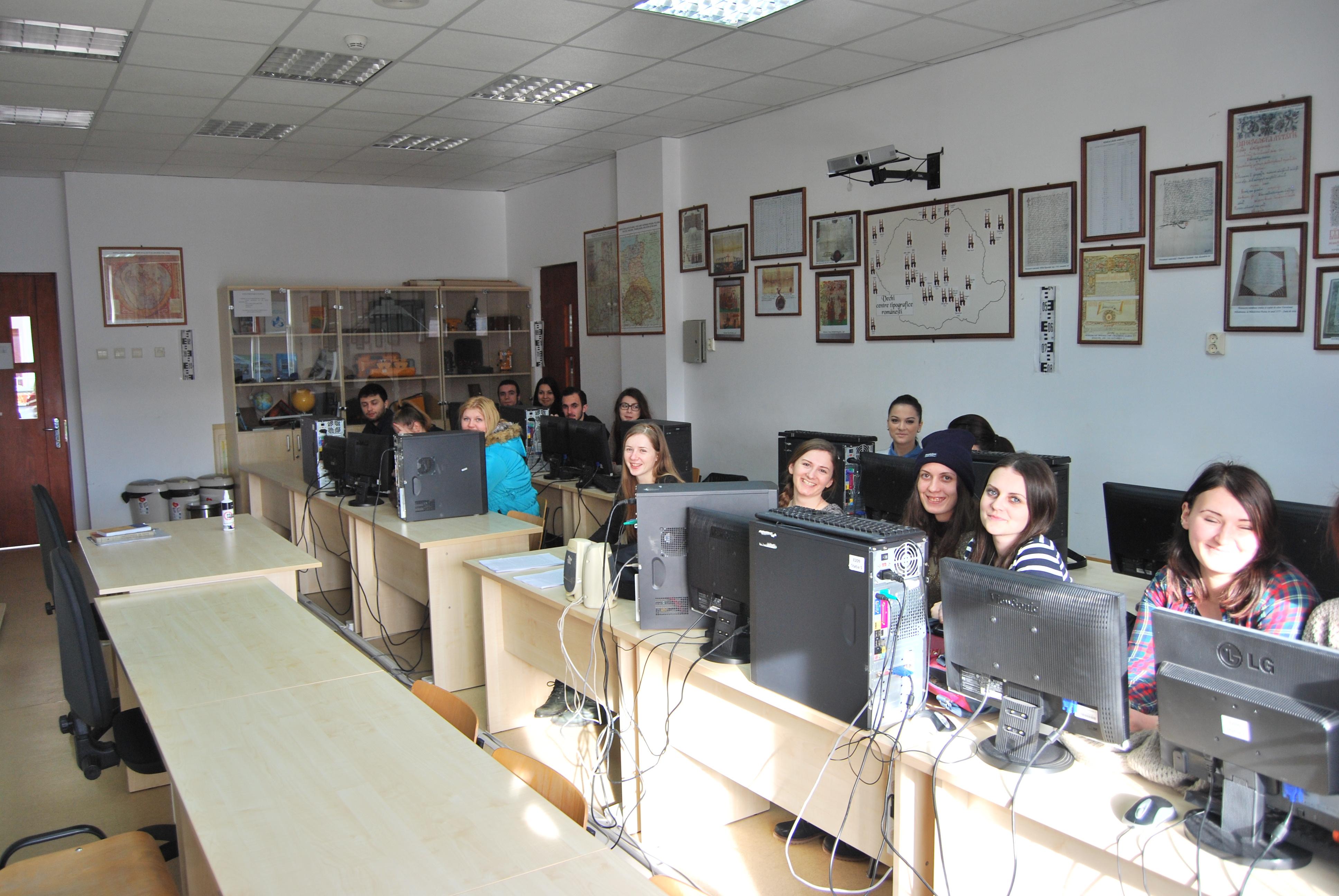 E 209 laborator de stiintele auxiliare ale istoriei